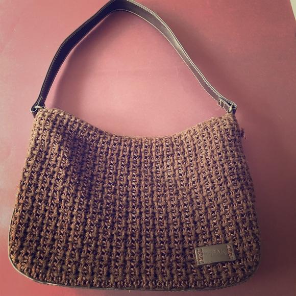The Sak Bags Brown Crochet Shoulder Bag Poshmark